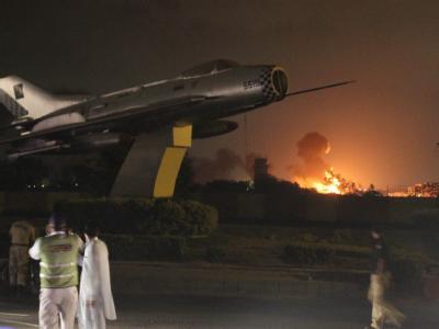 Anschlag auf Marinebasis in Pakistan