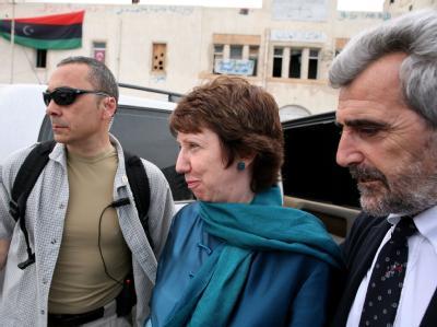 Catherine Ashton in Bengasi