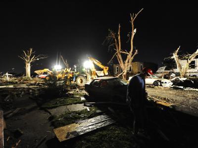 Tornado-Schäden in Missouri