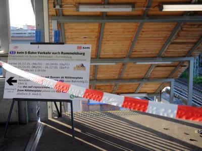 S-Bahnhof Ostkreuz gesperrt