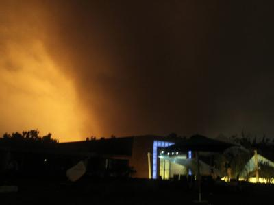 Explosion in Tripolis
