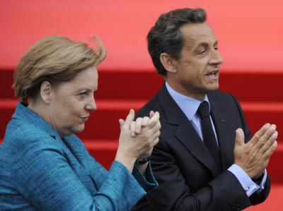 Kanzlerin Merkel und Präsident Sarkozy. In Sachen Atomkraft verfolgen Deutschland und Frankreich unterschiedliche Strategien.