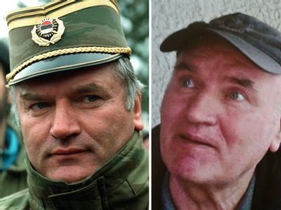 Ratko Mladic im Jahr 1994 und am Tag seiner Festnahme
