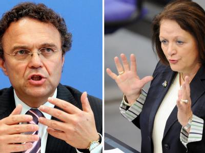 Bundesinnenminister Hans-Peter Friedrich (CSU) und Bundesjustizministerin Sabine Leutheusser-Schnarrenberger(FDP) streiten über die Verlängerung der Anti-Terror-Gesetze.