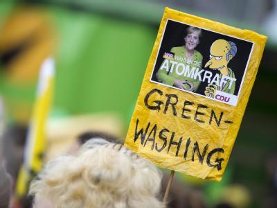 Demo gegen Atomkraft  in Dresden