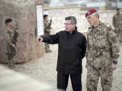 De Maizière in Afghanistan