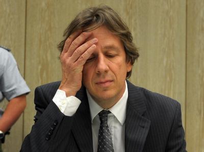 Jörg Kachelmann Anfang Dezember 2010 im Gerichtssaal.