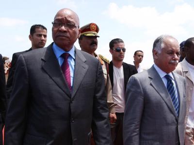 Zuma in Libyen