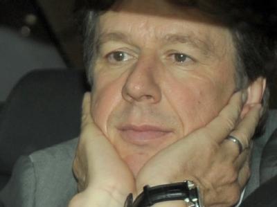 Jörg Kachelmann verlässt das Landgericht in Mannheim als freier Mann.