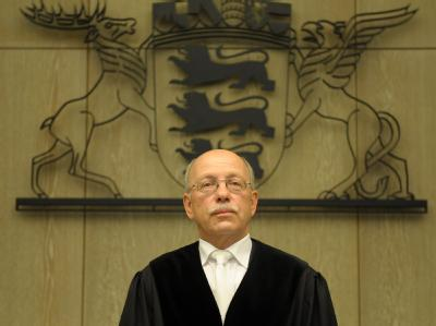 Der Vorsitzende Richter im Fall Jörg Kachelmann, Michael Seidling.
