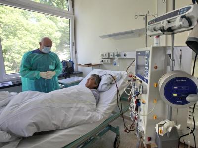 Dialysestation des Universitätsklinikums Schleswig-Holstein in Kiel.