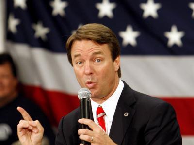 Der frühere Präsidentschaftskandidat John Edwards soll Mittel für seinen Wahlkampf, hier ein Archivbild von 2008, abgezweigt haben.