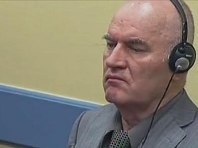 Ratko Mladic vor dem Kriegsverbrecher-Tribunal in Den Haag. (Archivbild)