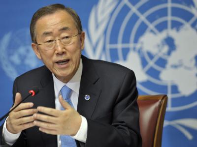 Ban Ki Moon ist seit 2007 Generalsekretär der Vereinten Nationen.