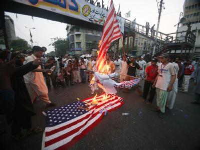 Protest gegen US-Drohnenangriff