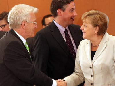 Kretschmann und Merkel