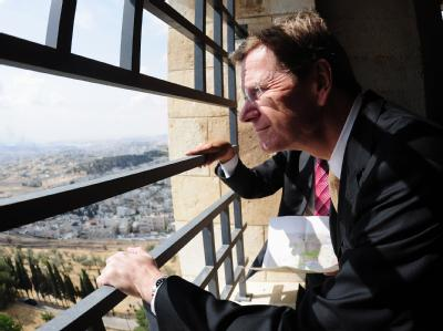 Westerwelle in Jerusalem