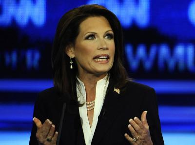 Michele Bachmann will im November 2012 gegen Barack Obama antreten.