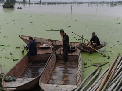 Überschwemmung in  China