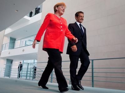 Merkel trifft Sarkozy