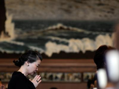 Die Katastrophe vom 11. März hat im Nordosten Japans mehr 15 000 Todesopfer gefordert. Mehr als 8000 werden bis heute vermisst.