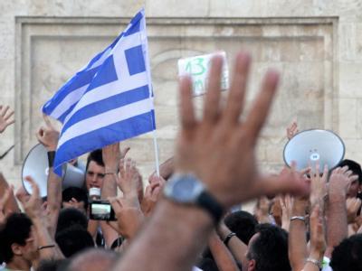 Athen wird durch Demonstrationen gegen die Sparpläne der Regierung immer wieder lahmgelegt.