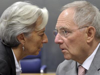 Lagarde und Sch�uble