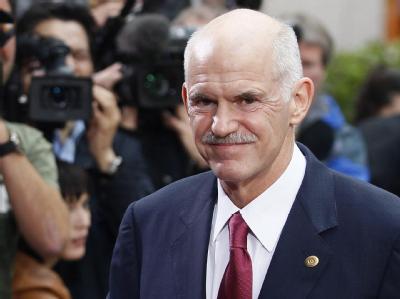 Regierungschef Papandreou
