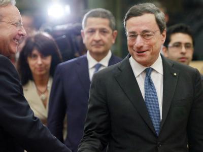 Wird neuer Präsident der Europäischen Zentralbank: Mario Draghi. (Archivbild)