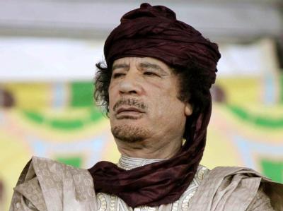 Der Internationale Strafgerichtshof in Den Haag hat einen Haftbefehl gegen den libyschen Machthaber Muammar al-Gaddafi erlassen (Archivfoto vom 06.10.2009).
