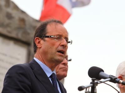 Ex-Parteichef François Hollande: «Nichts sollte Dominique Strauss-Kahn hindern, anzutreten.»