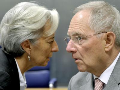 Lagarde und Schäuble