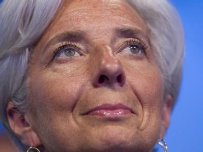 Christine Lagarde ist die erste Frau an der Spitze des Internationalen Währungsfonds. Foto: Ian Langsdon