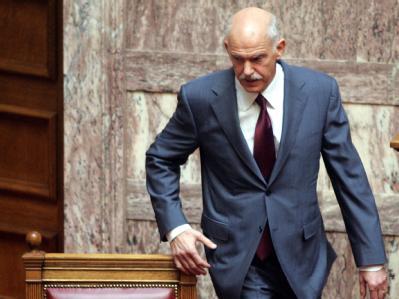 Griechenlands Regierungschef Giorgos Papandreou bleibt dabei: Sein Land werde die Schuldenkrise meistern.