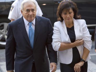 Strauss-Kahn und seine Frau