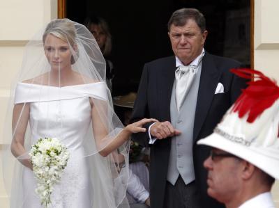 Charlene und Vater Michael Kenneth