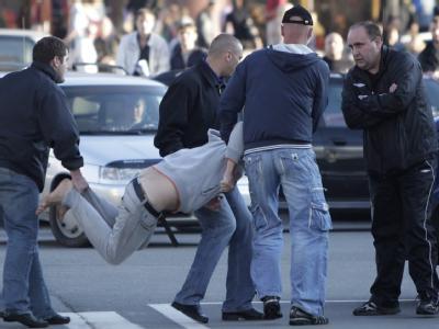 Festnahmen in Minsk