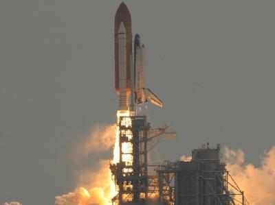 Start der Raumfähre «Atlantis»