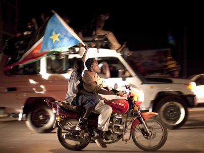 Jubel in Juba: Fast 30 Jahre nach Beginn des blutigen Bürgerkriegs wird der Süden des Sudan ein unabhängiger Staat.
