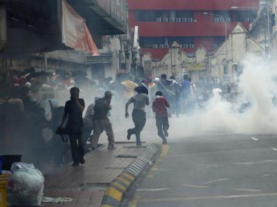 Demonstration in Kuala Lumpur