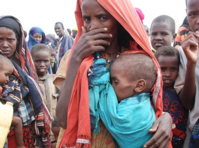 Dürre-Flüchtlinge