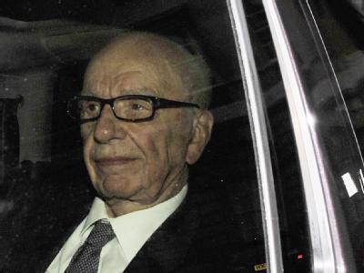 Rupert Murdoch in London. Der Medienunternehmer ist bereit, vor einem Untersuchungsausschuss auszusagen.