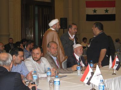 Konferenz der syrischen Opposition