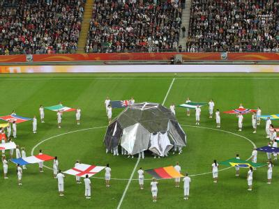 WM-Abschluss-Zeremonie