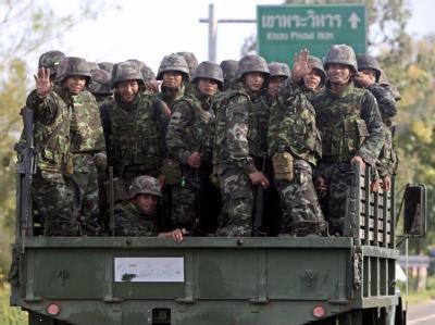 Konflikt zwischen Thailand und Kambodscha