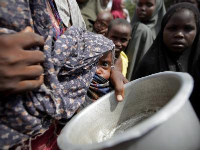 Hilfsorganisationen schätzen, dass in den kommenden Monaten rund eine Milliarde US-Dollar nötig sind, um die Hungerkrise zu bekämpfen. (Foto: Stuart Price, AU-UN IST)