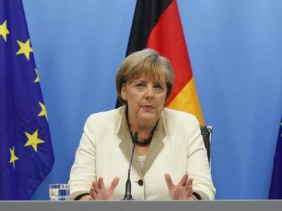 Kanzlerin Merkel in Brüssel: «Wir haben heute eine wichtige Etappe erreicht.»
