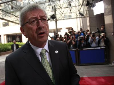 Zuversichtlich: Eurogruppen-Chef Jean-Claude Juncker rechnet damit, dass es beim Krisengipfel der Euroländer zu Griechenland zu einem Kompromiss kommen wird.