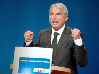 Der bisherige Generalsekretär Thomas Strobl ist neuer Landesvorsitzender der baden-württembergischen CDU.