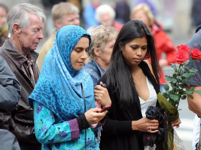 Trauer in Oslo